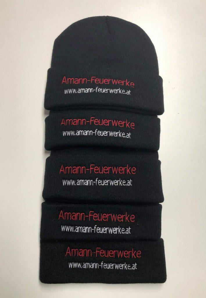 Amann-Feuerwerke Mütze